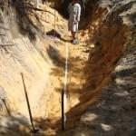 Digging a Drain